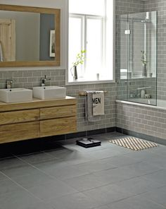 Fired Earth  Our 'VOTES FOR WOMEN' Tea Towel styling the Fired Earth bathroom!