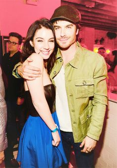 Ian Somerhalder & Adelaide Kane ♥ are you kidding me?! I love them both so much. Please just have babies.