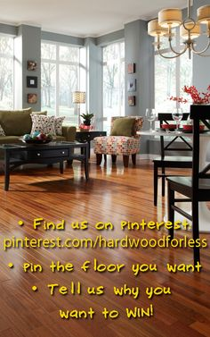 Pin your favorite Lumber Liquidators floor, tell us why you love it & you could win a GIFT CARD!