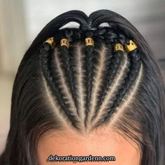 Learn how to create quick and easy back to school hairstyles with braids # Easy Hairstyles braids Create Easy Hairstyles learn Quick School Braided Hairstyles Updo, Easy Hairstyles For Long Hair, Baddie Hairstyles, Teen Hairstyles, Braids For Long Hair, Braids Easy, Glasses Hairstyles, Wedding Hairstyles, Braided Hairstyles For School