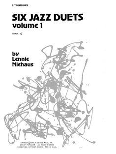 Lennie Niehaus '10 Jazz Sketches, Volume 3 (altos)' Sheet
