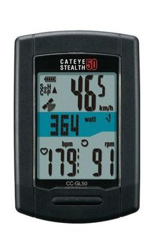 CatEye Stealth 50 GPS ANT+ Cyclocomputer - GPS Bike Computer Competitive Cyclist #CatEye