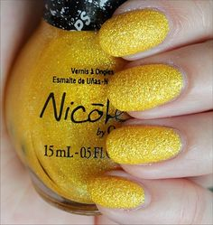 Nicole by OPI Lemon Lolly. Wearing it right now and am in love! (From the Gumdrops Collection. This is a Shoppers Drug Mart exclusive shade. Click through for an in-depth review and more swatches!)