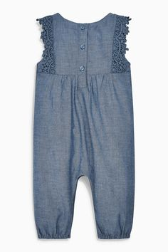Buy Denim Dungarees (0mths-2yrs) from the Next UK online shop