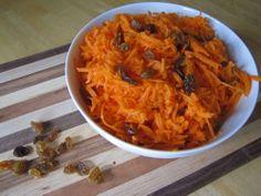 DANISH NIGHT Gulerods Salat  Carrot salad with pepitas!  Only 4 ingredients! YUm
