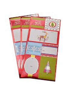 Spritz Folk Gift Tags 21 Count - Self Stick -- Find out more about the great product at the image link.