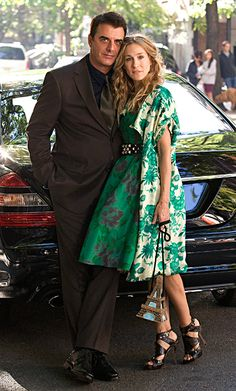Sarah Jessica Parker and Chris Noth - Carrie Bradshaw and Big - Sex and the City - Sexo en Nueva York