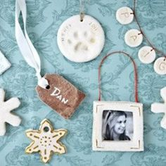 Salt Dough Ornament Making Tips {Dough Ornaments}  tip-junkie