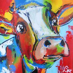 Verbaasde koe - Surprised cow