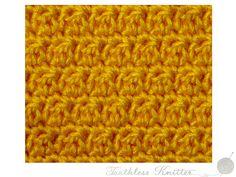 Wzór Fakturowy: Półsłupek Zwykły i Słupek Zwykły / Textured Pattern: Double Crochet and Treble