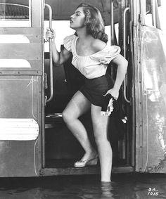 """Lilia Prado in """"Subida al Cielo"""" by Luis Buñuel, 1952."""