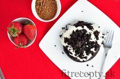 """Hrnčekový koláčik """"kráter"""" - FitRecepty"""
