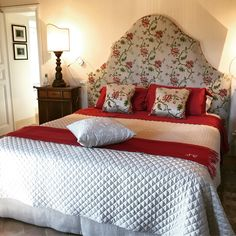 Tuscany country home master room