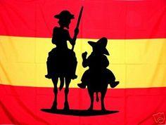 Fraggle Blog: La bandera de España, el toro de Osborne y Don Quijote