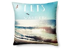 Wander 20x20 Pillow, Multi on OneKingsLane.com