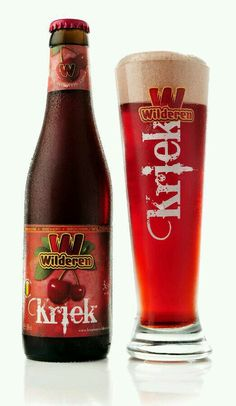 la bière à la cerise