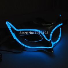 Sound Control Bi-colors Glowing Fashion Show Led Strip Rope Glasses El Wire Tube Sparkling Eyewear For Christmas Easter Day Complete In Specifications Lights & Lighting