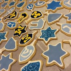 What s Hanukkah without a little Maize and Blue! University Of Michigan e9a1ccac84ca
