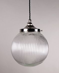 Goodrich Prismatic Globe Pendant Light
