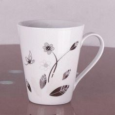 Coffee Mug with 10oz Capacity, Customized Shapes and Designs are Accepted