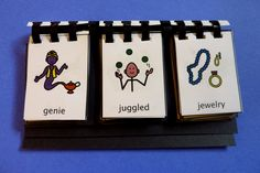 Ch and J Tongue Twister Flip books - from the blog, Adventures in Speech Pathology