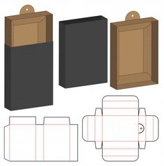 Basteln Box packaging die cut template design Premium Vector How to Build a Simple Potting Bench The Diy Paper Folding Box, Paper Box Template, Box Templates, Box Template Printable, Origami Templates, Box Packaging Templates, Packaging Dielines, Packaging Design Box, Diy Gift Box