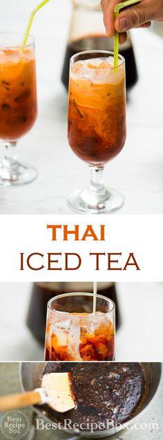 Thai Iced Tea Recipe - Homemade! Super Easy and Just like the restaurants | @bestrecipebox