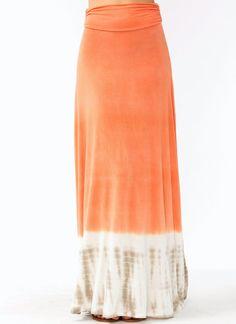 dip-dye maxi skirt $36.90