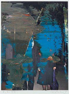 Gerhard Richter - collage, paint, ambiguity