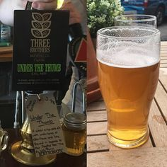 #under the thumb from @threebrothersbrewingcompany in Yarm near Middlesborough. Yarm is lovely.. #adventuresinale #yarm #threebrothersbrewing