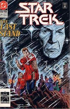 Star Trek Comic Issue 21 Copper Age First Print 1991 Weinstein Purcell Starr DC Star Trek Enterprise, Star Trek Voyager, Star Comics, Dc Comics, Star Trek 1, Nostalgia, Film Icon, Star Trek Original Series, Last Stand