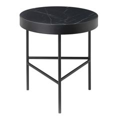 Black Marquina Marble Table - Small Table Ferm Living on YOOX. The best online selection of Small Tables Ferm Living.