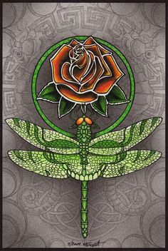 Grateful Dead Tattoo, Grateful Dead Shows, Grateful Dead Image, Phil Lesh And Friends, Dead And Company, Dragonfly Art, Tattoo Inspiration, Art Images, Peace And Love
