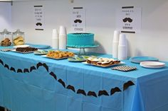 Aiden's Party: Milk, Cookies, and Mustaches (and free mustache printables!)Shoes Off, Please | Shoes Off, Please