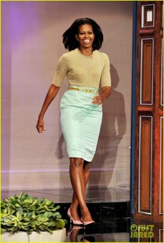 Michelle Obama: 'Tonight Show With Jay Leno'!