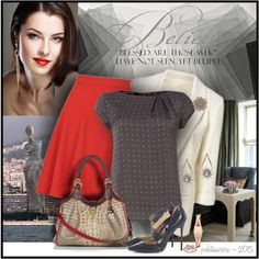 """Confident Business Woman"" by pwhiteaurora on Polyvore"