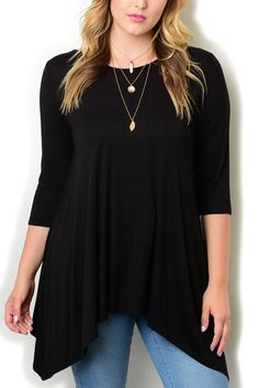 http://www.dhstyles.com/Black-Plus-Size-Trendy-Casual-Girly-Boho-Sharkbite-p/moa-394x-black.htm