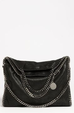 Stella McCartney 'Falabella' Shaggy Deer Fold Over Tote available at #Nordstrom