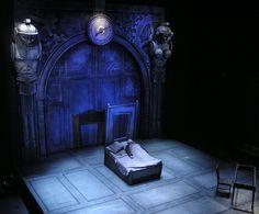 The Adding Machine. Towson University Theatre. Scenic design by Daniel Ettinger.