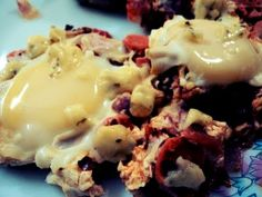 shakshuka..it's awesome.recipe here- http://flysongbird.blogspot.com/2011/07/shakshuka-recipe.html