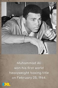 In addition to being a boxer, Ali was a musician, actor, and writer and had a focus on religion, philanthropy and activism. #OnThisDay #TBT #BHM