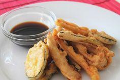 Tempura de verduras (cómo hacer frituras más sanas)