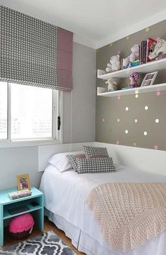 With the touch of a leading interior developer Planning as well as decoration a small bedroom can be performed in mins, for instances ideas with Storage, Design, For Girls or Young boy. Small Room Bedroom, Home Bedroom, Girls Bedroom, Diy Bedroom Decor, Home Decor, Small Bedroom Ideas For Girls, Bedroom Wall, Girl Bedroom Designs, Stylish Bedroom