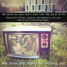 Represent: New Media Action Project #women #media #medialiteracy