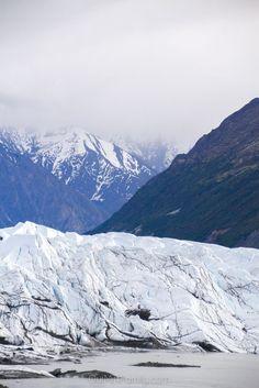 Exploring the Matanuska Glacier just a couple of hours from Anchorage, Alaska!