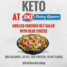 Keto Fast Food and Restaurant Picks! – The Fit Mom Tribe Keto Keto Foods, Keto Meal, Paleo Diet, Receitas Crockpot, Keto Fast Food Options, Grilled Chicken, Keto On The Go, Low Carb Recipes, Ketogenic Diet