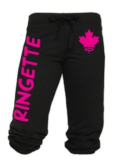 Ringette Drawstring Capri Sweats - Ringette - Browse By Sport Volleyball Gifts, Volleyball Players, Running Pants, I Feel Pretty, World Of Sports, I Am Game, Winter Sports, Hockey, Capri