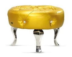 Yellow Furniture by Bretz | Home Decorating Trends Magazine