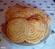 Sajtos korong Kata módra Apple Pie, Savory Snacks, Apple Pie Cake, Apple Pies