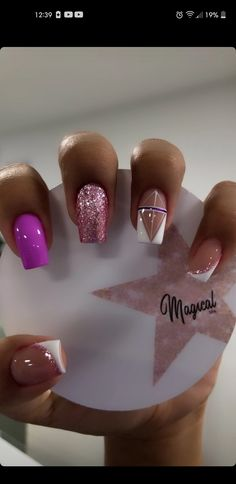 Manicures, Toe Nails, Nail Colors, Nail Art Designs, Cami, Makeup, Beauty, Curly, Work Nails